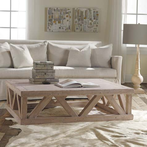 Modern History large Architectural Coffee Table