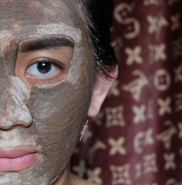 masker memutihkan wajah