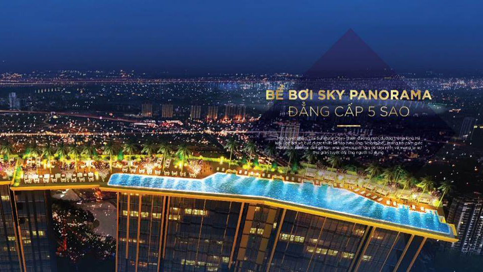 Bể bơi Sky Panorama