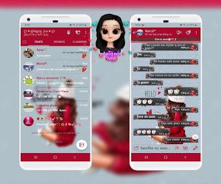 Alone Girls Theme For YOWhatsApp & Fouad WhatsApp By Ariana NM