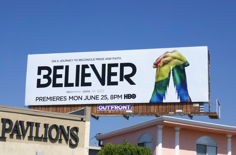 Believer documentary billboard