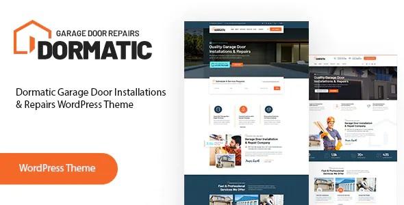 Best Garage Door Repair WordPress Theme