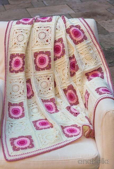 Crochet baby blanket 4, Anabelia