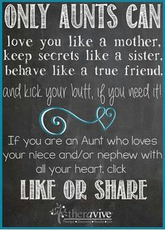60+ Famous Aunt and Niece Relationship Quotes (2019 ...