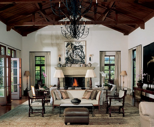 New Home Interior Design: Spanish Revival