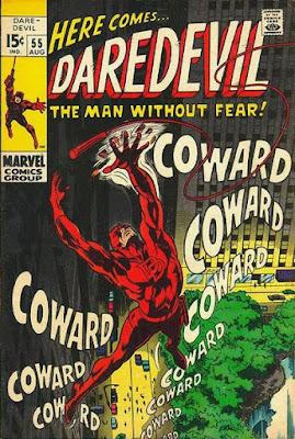 Daredevil #55, Coward