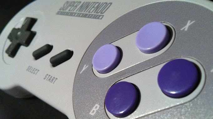 Vintage Controle Super Nintendo