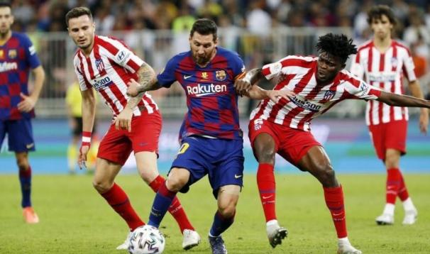 التشكيل الأساسي لقمة برشلونة ضد أتلتيكو مدريد