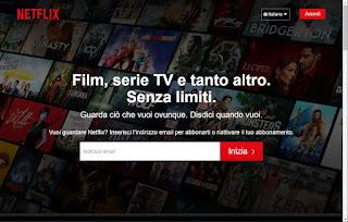 Iscrizione Netflix