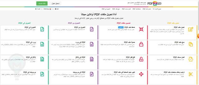 تحويل PDF الى مايكروسوفت ورد