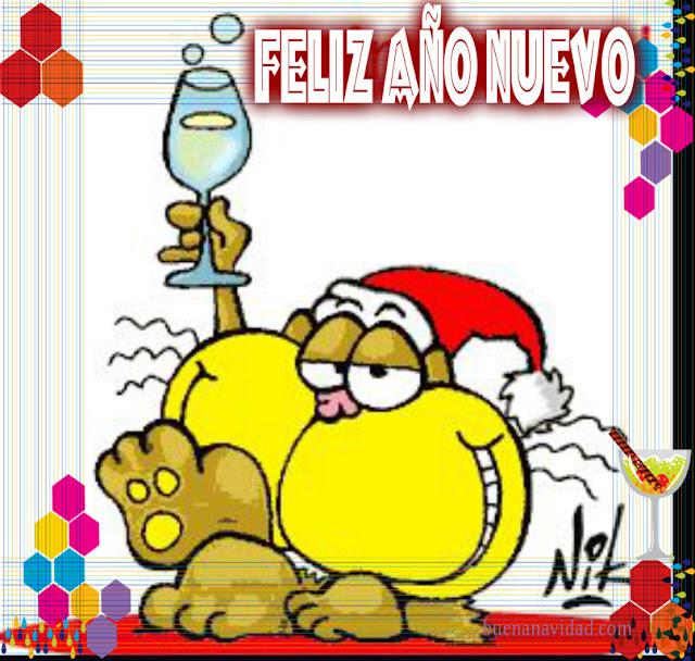 Gaturro feliz año nuevo