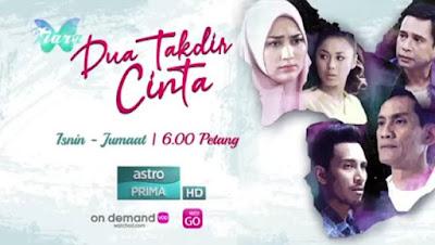 Sinopsis Drama Dua Takdir Cinta Lakonan Fasha Sandha & Azar Azmi