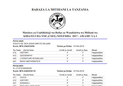 o level geography syllabus in tanzania pdf