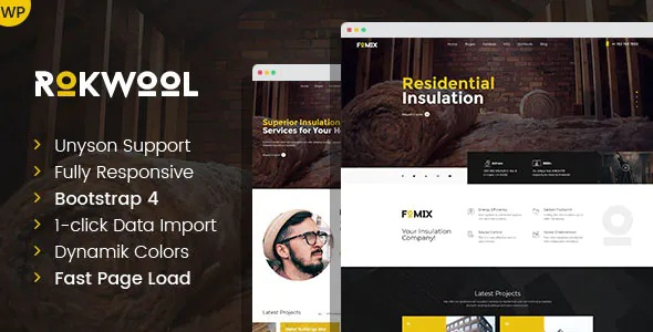 Best WordPress theme for House Insulation