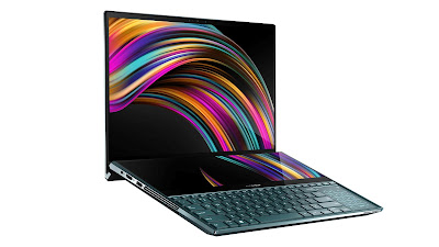 laptop featuring 4K screens, laptop 4K screens, laptop, laptops, asus laptops, tech, news, new tech, ZenBook Pro Duo, ZenBook, ZenBook Pro, ZenBook Duo, apple, Asus, apple,