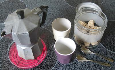 Zubereitung Latte macchiato