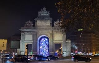Puerta de Toledo, la Latina, Madrid.