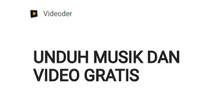 Gambar videoder unduh musik dan video gratis