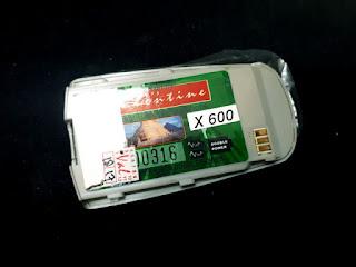 Baterai Samsung SGH X600 SGH-X600 Jadul New Merk Valentine
