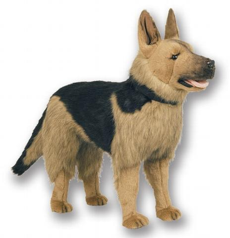 German Shepherd Stuffed Toy Dog German Shepherds
