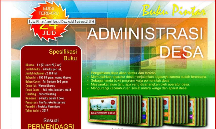 Download Format Buku Administrasi Kasi Kesra Desa dalam Permendagri  Download Format Buku Administrasi Kasi Kesra Desa dalam Permendagri 47/2016