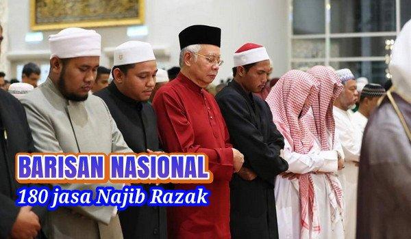 180 jasa Najib Razak