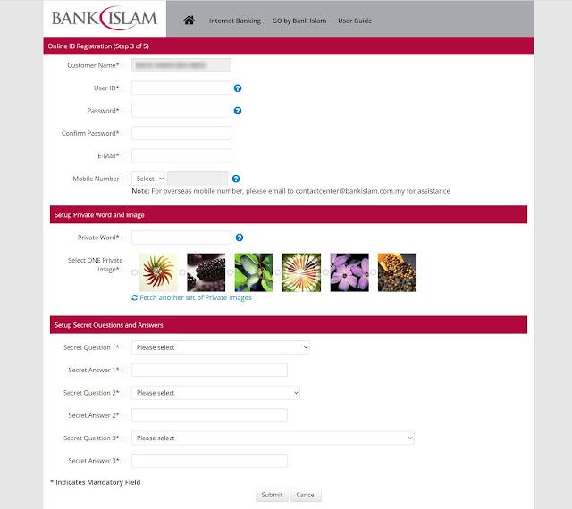 Cara Daftar Perbankan Internet Bank Islam Secara Online Terbaru Bagi Tahun 2020