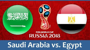 Saudi Arabia vs Egypt Live Streaming online Today 25.06.2018 World Cup Russia 2018