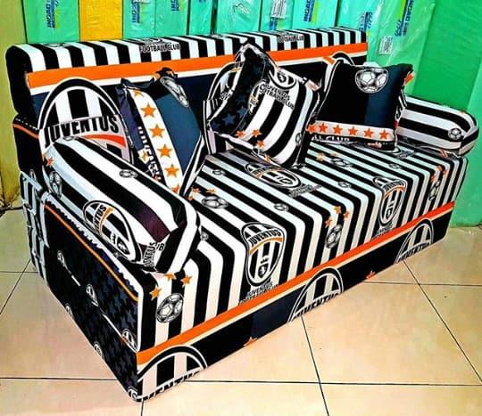 Sofa Bed Inoac - Harga Sofa Bed Motif Karakter Lipat