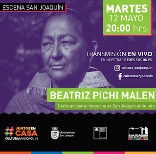 centro cultural san joaquín presenta a beatriz pichi malen