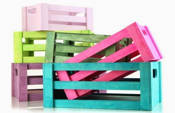 Tutorial de artesan as 10 ideas de muebles neor sticos - Muebles con cajones de frutas ...