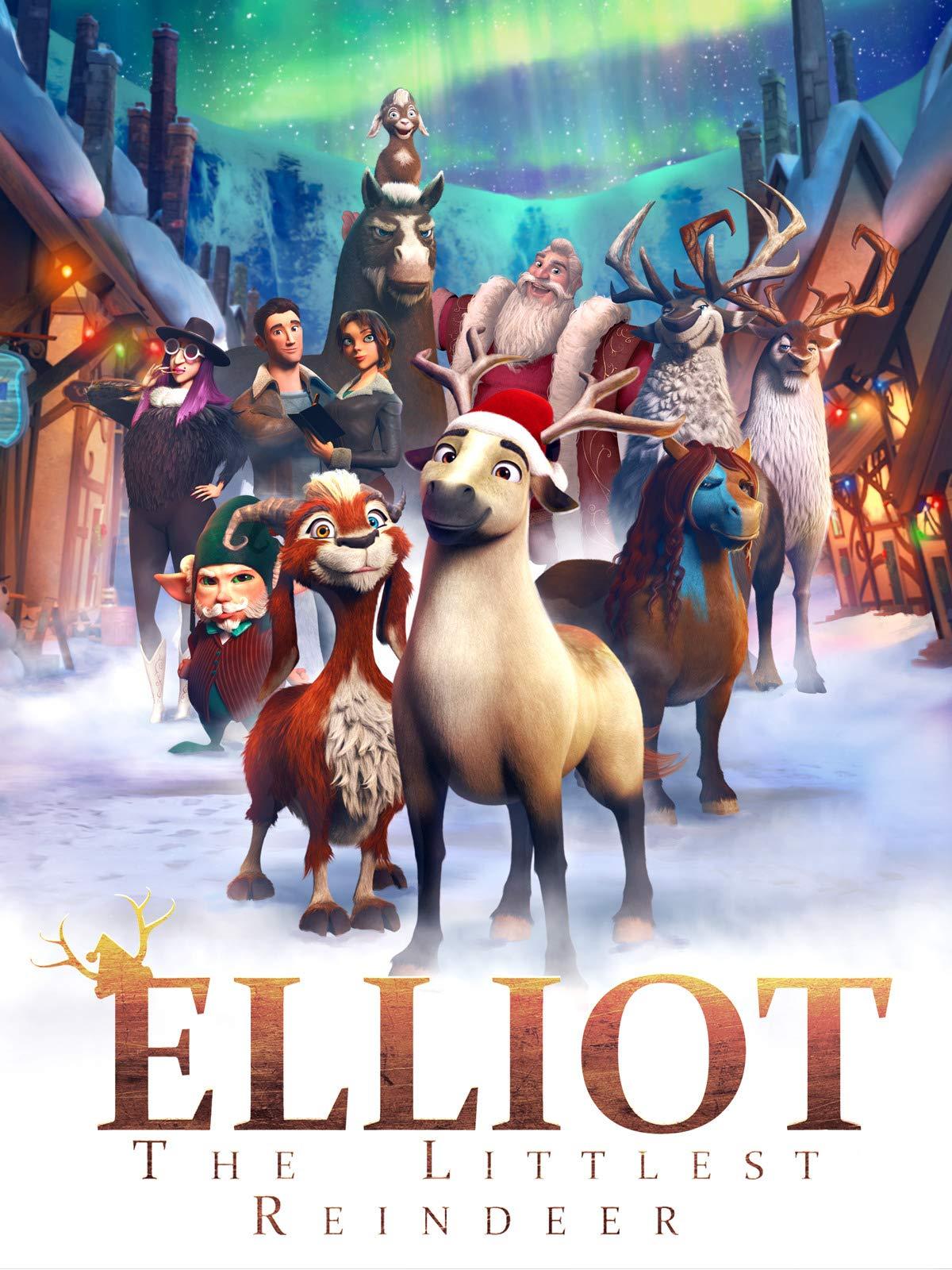 Elliot the Littlest Reindeer [2018] [CUSTOM HD] [DVDR] [NTSC] [Latino]
