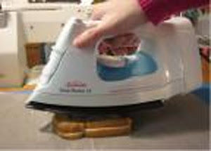 ironing your grilled cheese