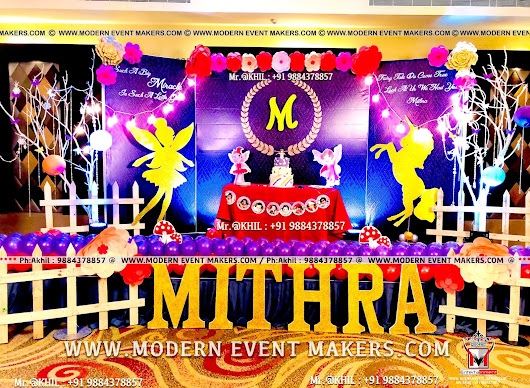 Balloon Decoration in chennai Mr.Akhil : 9884378857