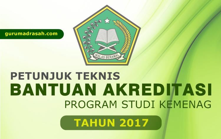 Download Juknis Bantuan Akreditasi Program Studi Kemenag