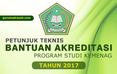 juknis bantuan akreditasi program studi 2017