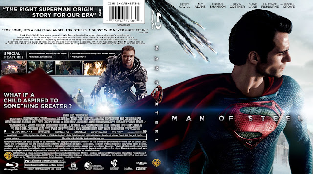 Capa Bluray Man Of Steel