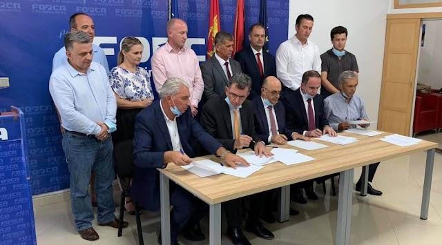 Formirana koalicija albanskih partija