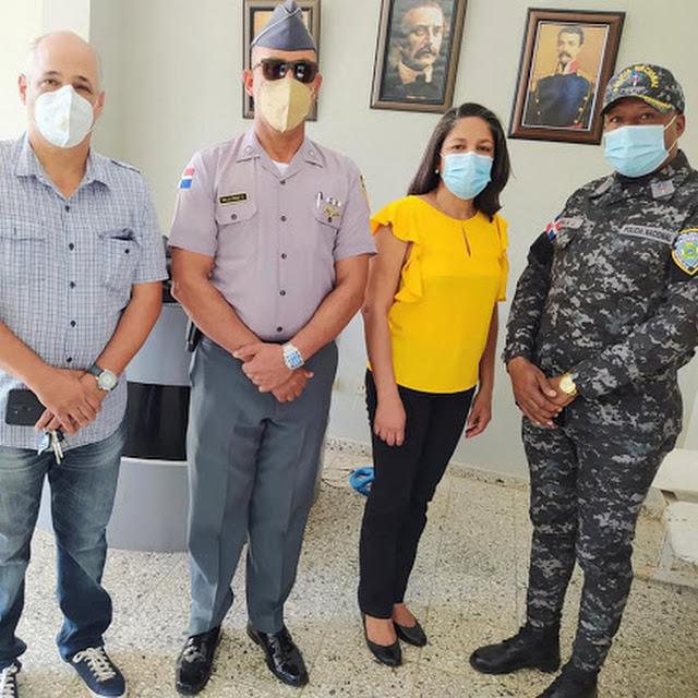 El Mayor Alejandro De La Cruz es el nuevo comandante policial en Río San Juan.