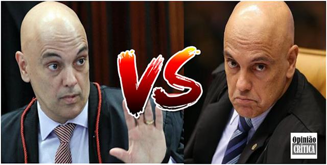 Alexandre de Moraes revogou decisão de censurar a Crusoé