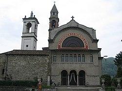 The new church of San Zenone in Cisano Bergamasco