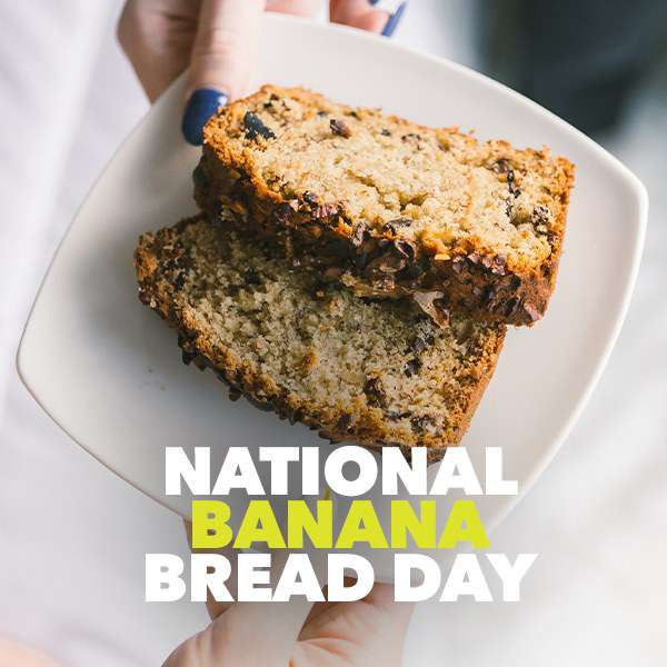 National Banana Bread Day Wishes for Instagram