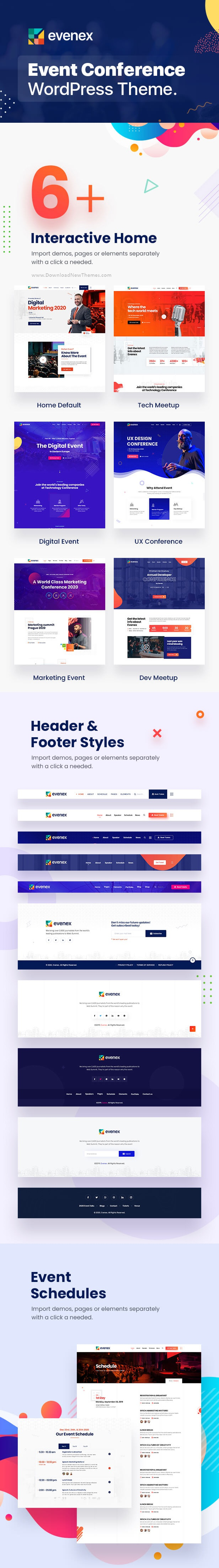 Event Conference Website Theme