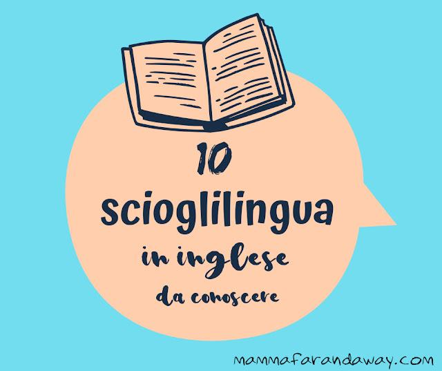 scioglilingua in inglese