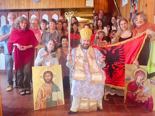 L'arcivescovo Arbëresh dell'Argentina Alejandro Greco augura la Pasqua a tutti gli albanesi