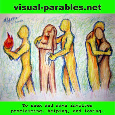 illustrating how to disciple