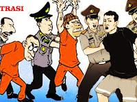 3 Orang Sindikat Pencuri Kabel Tembaga Milik PT.Semen Tonasa Digiring Ke Polres Pangkep