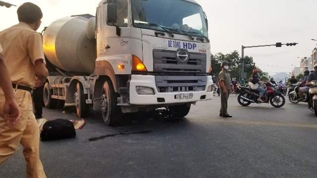 """Khánh Hòa: Xe trộn bê tông gây tai nạn chết người - """"nghi án"""" cố tình giết người"""