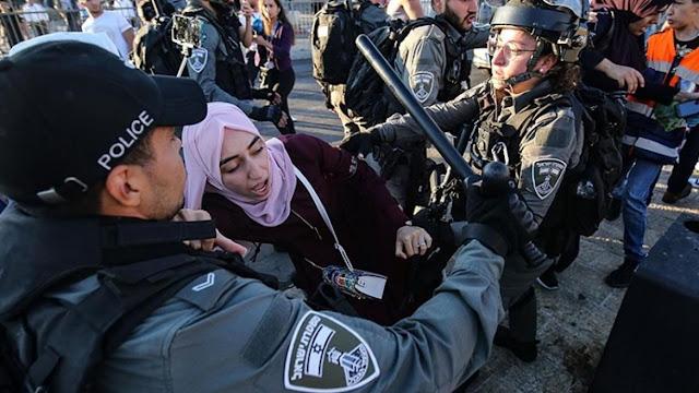 Polisi wa Israel wawashambulia Wapalestina