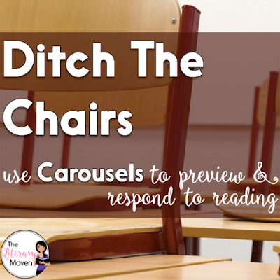 """Get students up out of their seats, moving and learning as they preview or respond to a topic or reading. This is a great alternative to the traditional anticipation guide & allows for """"silent"""" voices to engage in discussion."""